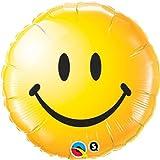 Folienballon Smiley gelb Folienballons Ballon