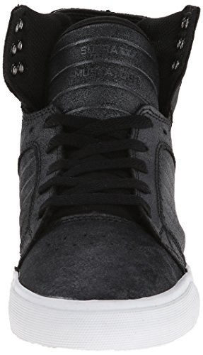 Supra WOMENS SKYTOP Damen Hohe Sneakers Schwarz (BLACK / METALLIC - WHITE     BMT)