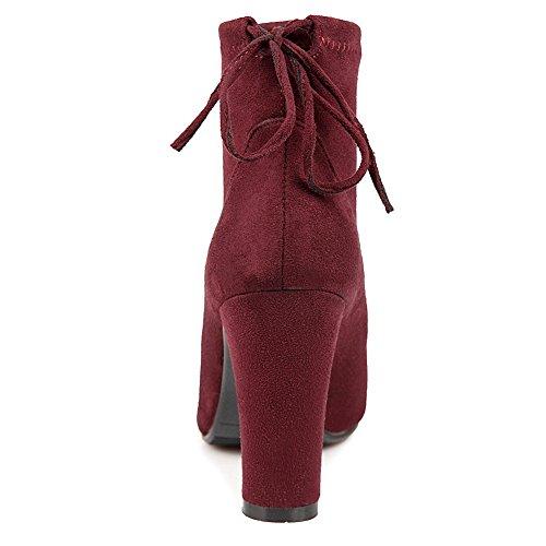 BalaMasaAbl09511 - A Collo Basso donna Red