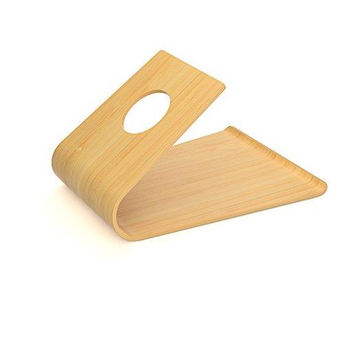 KD Essentials Soporte para teléfono móvil, (Soporte de bambú de madera...