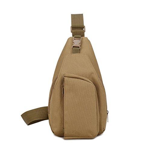 Männer Casual Outdoor-Sport Brusttasche Mann Umhängetasche Kleine Tasche Weibliche Multifunktions-Tarnung 6