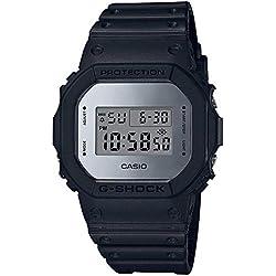 Casio G-SHOCK Homme Digital Quartz Montre avec Bracelet en Résine DW-5600BBMA-1ER