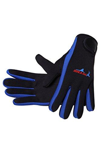 Cokar Neopren Handschuhe 1.5MM Neoprenhandschuhe Tauchen Schnorcheln Elastische Warm Verstellbarer