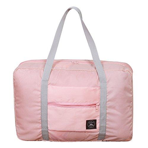 Duffle Bag Koffer (SPAHER Foldable Reisetaschen Duffle Bag 32L Ultra Leichtgewichtig Faltbar Packbar Wasserdichte Gepäck Handtasche Schulter Organizer Aufbewahrung Tragen Tasche Handgepäck Für Shopping Sport Camping)