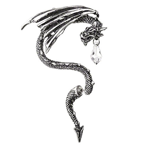 Alchemy Gothic Kristall Drachen Ohr Wickeln