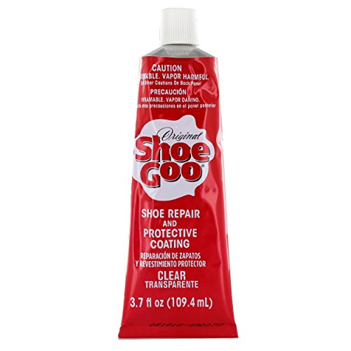 Shoe Goo Repair Adhesive for Fixing Worn Shoes or Boots, Clear, 3.7-Ounce Tube  available at amazon for Rs.1733