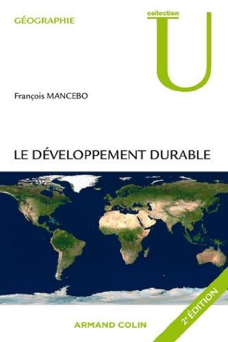 Le développement durable (Géographie)