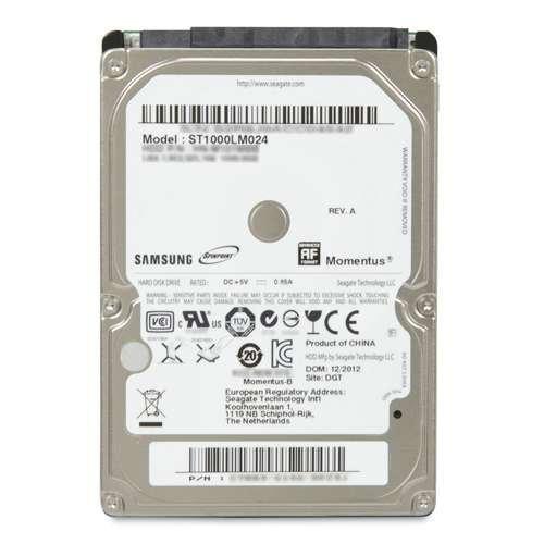 Seagate 1TB 2,5 Zoll 5400RPM SATA II Festplatte