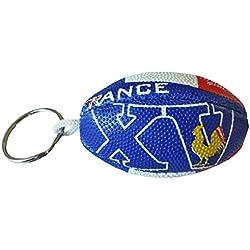 Porte clé Ballon de Rugby - France - Collection Supporter