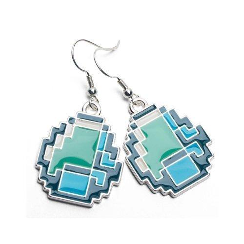 Minecraft Earrings Diamond J!NX