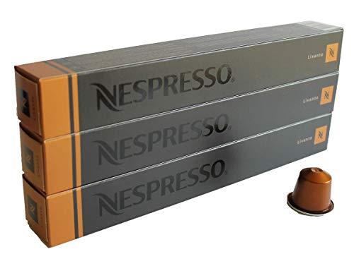 Nespresso Sortiment Livanto (Espresso), 30 Kapseln