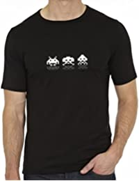 Next Weeks Washing Space Invaders Men's Fashion Quality Heavyweight T-Shirt.