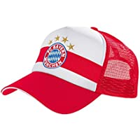 FC Bayern München Trucker Kappe Cap rot / weiß 19256
