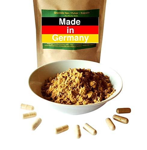 360 Graviola´ Annona Muricata Guanabana Fruchtextrakt in veganen Kapseln 500 mg Premium Qualität - Made in Germany
