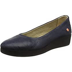 Softinos Damen Asa414Sof Pumps, Blau (Marineblau), 39EU(6 UK)