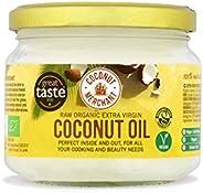 Olio di Cocco Biologico Extra Vergine 300 ml | Crudo e Spremuto a Freddo | Organico e Puro al 100% | Ideale su