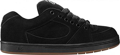 ES Footwear Skateboard Schuhe Accel Black, Schuhgrösse:37.5 (Schuhe Dekline Herren)