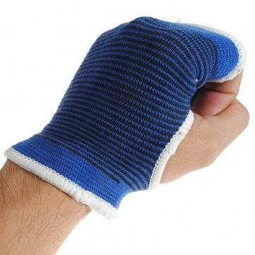 Sport im Freien Elastic Palm Support Handschutz 1 Paar Blau - Freien Sport Im