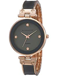 Giordano Analog Grey Dial Women's Watch-C2166-11