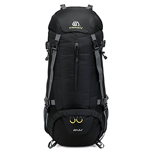 70 L Mochila de senderismo impermeable Daypacks deportes al aire libre con la cubierta de la lluvia para camping Pesca Viajes Escalada Alpinismo Ciclismo esquí
