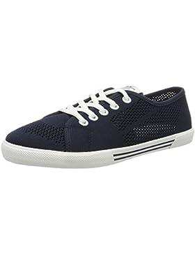 Pepe Jeans Damen Aberlady Fishnet Sneakers