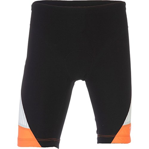 Tyr-tri-shorts (TYR Carbon 9in Tri Short - Men's Black/Orange, M)