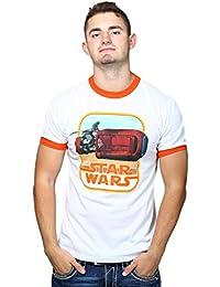 Mighty Fine Herren T-Shirt Orange Orange,White