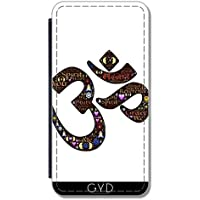 Custodia in PU Pelle per Samsung Galaxy S7 Edge (SM-G935) - Namaste Indù Indiano by WonderfulDreamPicture - Saluto Edge Design
