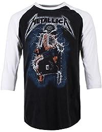 Metallica Ride The Lightning - Electric Chair Longsleeve Black-White
