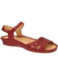 Pikolinos 655-0698 Sandia - Sandalias de Vestir de Piel Lisa para Mujer