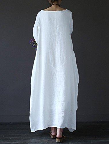 MatchLife -  Vestito  - Vestito - Donna Bianco