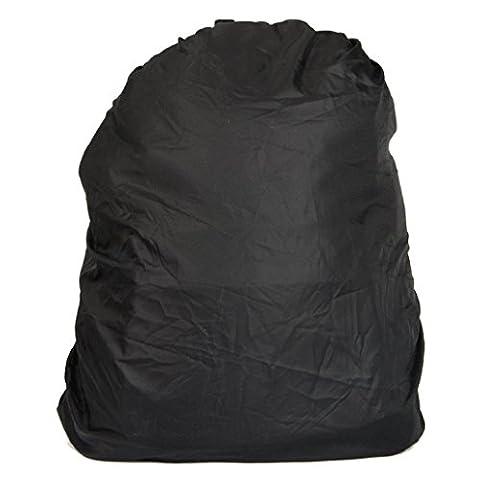 Ouneed® Casual Nylon Waterproof 17 inch Notebook Computer Laptop Bag Laptop Backpack (Noir)