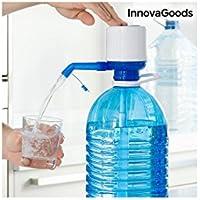InnovaGoods Dispensador de Agua para Garrafas, Polipropileno, Blanco / Azul, 16.5x8x18 cm