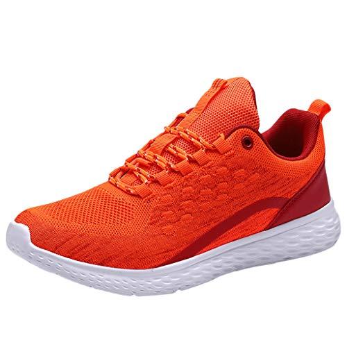 Sanahy Laufschuhe Sportschuhe Herren Atmungsaktiv Leichtgewicht Turnschuhe Freizeit Fitness Outdoor Sneaker