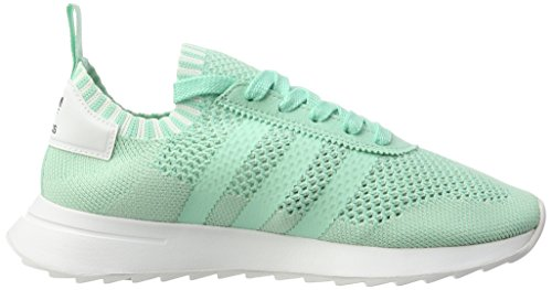 adidas - Flashback Primeknit, Scarpe basse Donna Türkis (Easy Green/Easy Green/Footwear White)