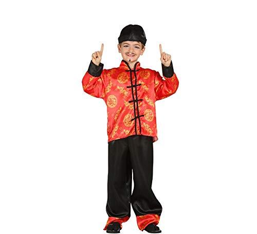 Japaner Kostüm - Chinese Japaner Kostüm für Kinder Gr. 98 - 134, Größe:128/134