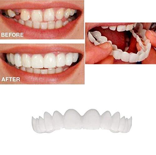 2PCS   Set (dentadura Superior e Inferior) Dentadura Superior e Inferior  Instant Smile Comfort e5aa2f5a32e56