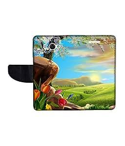 KolorEdge Printed Flip Cover For Redmi Xiaomi MI 2S Multicolor - (45KeMLogo10902XiaomiMi2S)