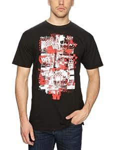 Vans Herren T-shirt Otw Checker Blaste, black, S (Small), VO7QBLK