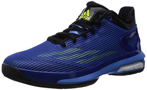 Adidas Crazylight Boost Low, noir / bleu / blanc, 8,5 M Us Black/Blue/White