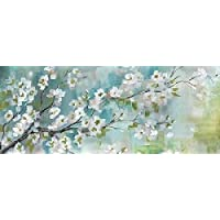 Tre Sorelle Studios – Cherry Blossoms Branch Panel Fine Art Print (60.96 x 121.92 cm)