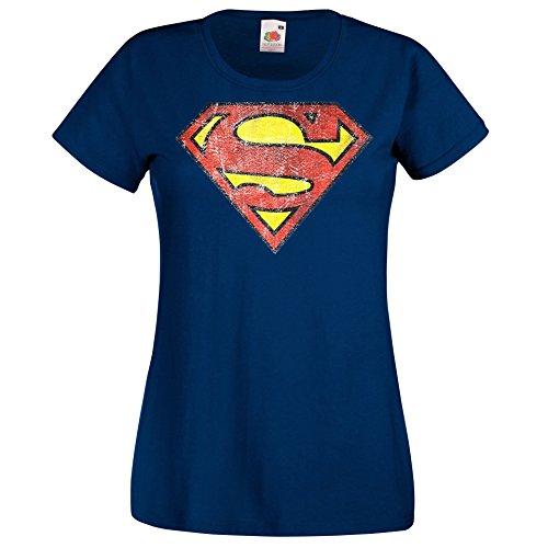 Modell Vintage Superman Farbe Navy Größe XL ()