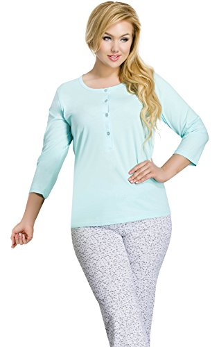 Merry Style Pyjama Femme 2008 Turquoise-1A