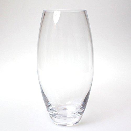 N/A Vase bauchig Glas klar D13,5cm H 26cm