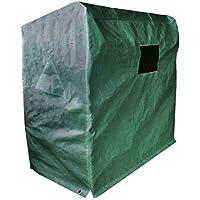 Dynamic24XXL Cubierta Playa Cesta Protectora móvil Lona de protección Carcasa Cubierta Protectora
