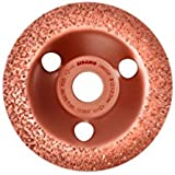 Sidamo - Plateau à poncer carbure - D.125 x 22,23 mm Gr 36 Convexe - Carbocup - multi-matériaux - 10805033
