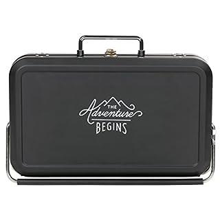 Gentleman's Hardware Small Suitcase Style BBQ Black
