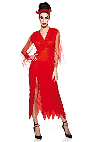 Unbekannt AEC–aq00538/L–Kostüm–Elegant Teufelin Erwachsene, Größe ()