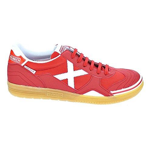 Scarpe da calcetto MUNICH GRESCA ROSSO Rosso