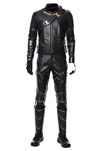 MingoTor Avengers 4 Endgame Hawkeye Cosplay Kostüm Herren (Hawkeye Cosplay Kostüme)